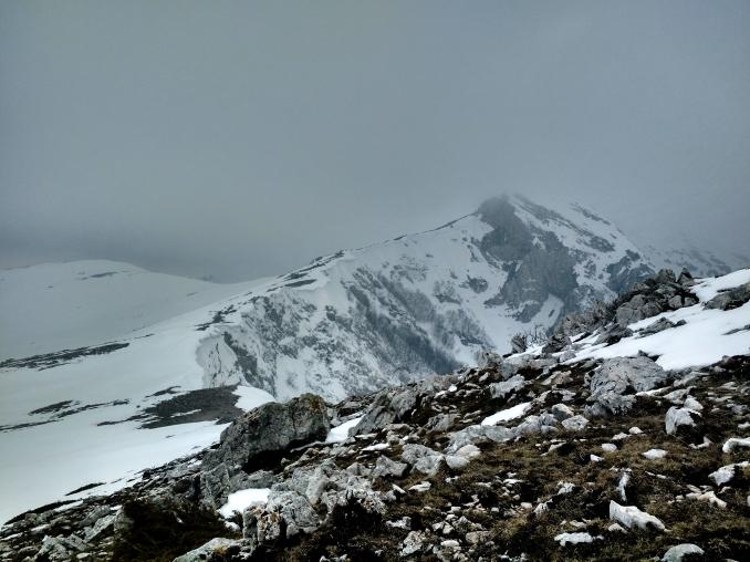 Monte Ginepro da monte Brecciaro