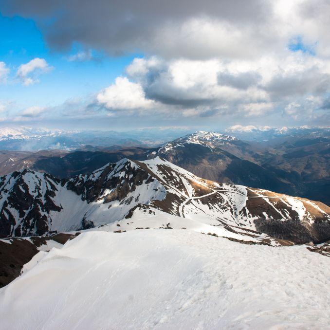Vista Nord-Est dalla cima