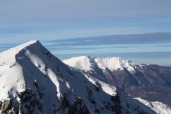 Monte Pratillo con il Viglio sullo sfondo