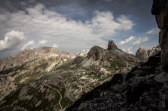 Rifugio Locatelli e Torre di Toblin