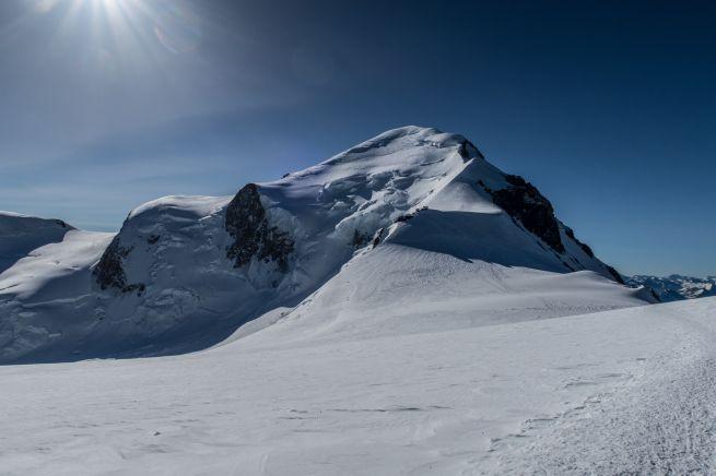 Cresta delle Bosses e Monte Bianco